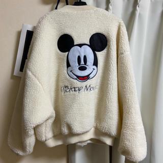 ディズニー(Disney)のミッキー ボアブルゾン(ブルゾン)