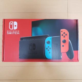 ニンテンドースイッチ(Nintendo Switch)の未使用品 Nintendo Switch ネオン(家庭用ゲーム機本体)