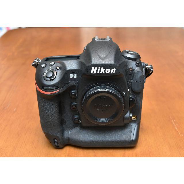 Nikon(ニコン)のニコン「D5」CF-Type ボディ 完動美品 ショット数:21,000枚以下 スマホ/家電/カメラのカメラ(デジタル一眼)の商品写真