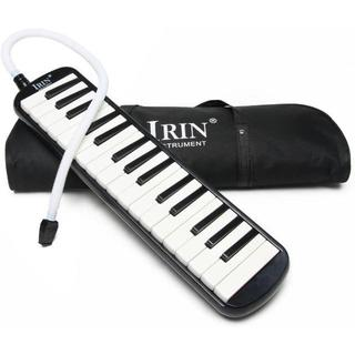 ハーモニカ 32鍵 メロディーピアノ 立奏用唄口 卓奏用パイプ セット 収納 ¥(ピアノ)