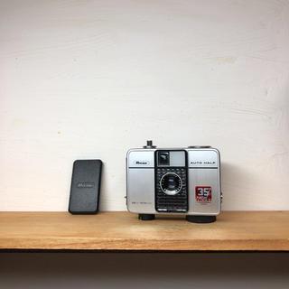 リコー(RICOH)のRICOH AUTO HALF E【限定モデル】整備品、完動品、キャップ付(フィルムカメラ)