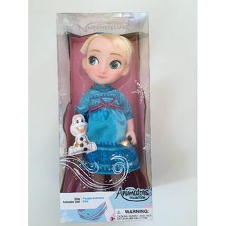ディズニー(Disney)のアナと雪の女王 エルサ オラフ付 アニメーターコレクションドール フィギュア(アメコミ)