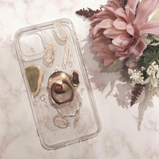 """トゥデイフル(TODAYFUL)の【""""O""""case.】ニュアンス iPhoneケース 1点限り【7/8専用】(iPhoneケース)"""