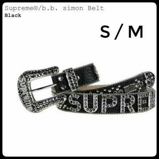 シュプリーム(Supreme)のSupreme Supreme/b.b. simon Belt S/M 即完売(ベルト)