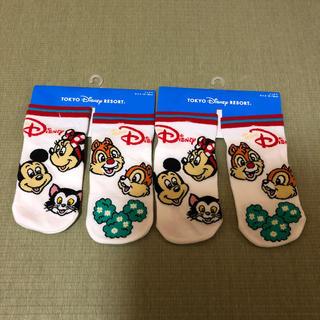 Disney - ディズニーリゾート キッズ靴下2セット 新品未使用
