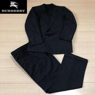 バーバリー(BURBERRY)のBurberry  ウール ダブル セットアップ スーツ ストライプ(セットアップ)