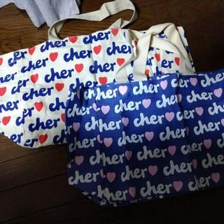 シェル(Cher)のcher♡ バッグ(エコバッグ)