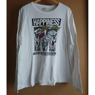 ディズニー(Disney)のディズニー ✕ IGNIO メンズ 長袖Tシャツ L(Tシャツ/カットソー(七分/長袖))