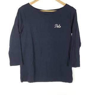 ポロラルフローレン(POLO RALPH LAUREN)のラルフローレンポロpoliRALPHLAUREN七分袖ロゴ刺繍カットソーロンTネ(Tシャツ(長袖/七分))
