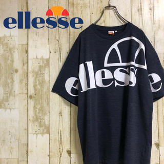 エレッセ(ellesse)のellesse エレッセ ビッグロゴ スリーブロゴ プリントTシャツ  XL(Tシャツ/カットソー(半袖/袖なし))
