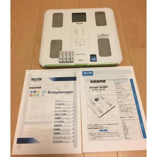 タニタ(TANITA)のタニタ 体重計 BC-569 取説・電池・SDカード付(体重計)