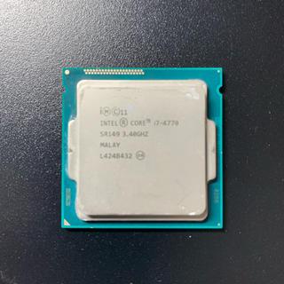 ジャンク ピン折れ core i7 4770(PCパーツ)