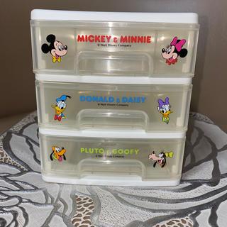 ディズニー(Disney)のデスクチェスト レトロ ミッキー&フレンズ(ケース/ボックス)