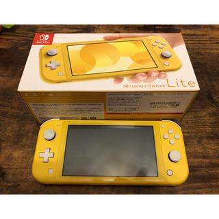 ニンテンドースイッチ(Nintendo Switch)の【中古】ニンテンドーSwitch ライト 【イエロー】(家庭用ゲーム機本体)