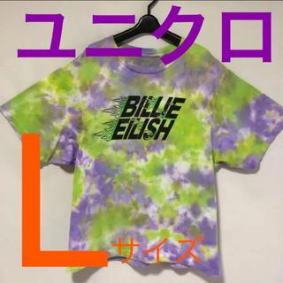 ユニクロ(UNIQLO)のBILLIE EILISHビリーアイリッシュ UNIQLOユニクロ Tシャツ(Tシャツ(半袖/袖なし))