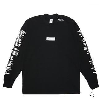 値下げthe inc. label LS tshirts size L(Tシャツ/カットソー(七分/長袖))