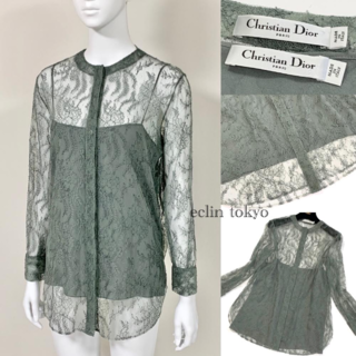 クリスチャンディオール(Christian Dior)の2019 Christian Dior 刺繍レース ブラウス E2080(Tシャツ(長袖/七分))