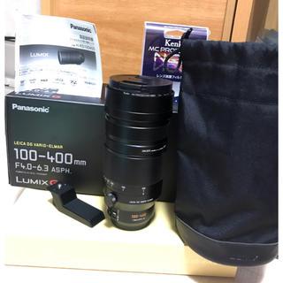 Panasonic - パナソニック ライカ 100-400 F4.0-6.3【保護フィルター付】