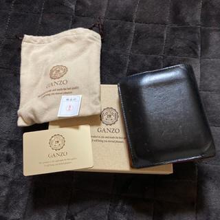ガンゾ(GANZO)のGANZO THIN BRIDLE 大型二つ折り財布(折り財布)