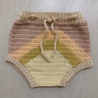 キャラメルベビー&チャイルド(Caramel baby&child )の【美品】wildwawa rainbow bloomer 6-12m(パンツ)