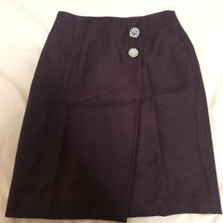 プロポーションボディドレッシング(PROPORTION BODY DRESSING)のPROPORTION ビジュー タイトスカート(ひざ丈スカート)