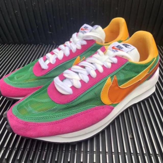 Nike x Sacai LD Waffle Pink 新品 30cm
