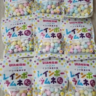 ユーハミカクトウ(UHA味覚糖)のUHA味覚糖 レインボーラムネミニ×9袋(菓子/デザート)