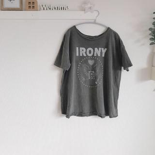 アイロニー(IRONY)のあーたん様専用★irony  Tシャツ & ikka  Tシャツ 2枚おまとめ(Tシャツ(半袖/袖なし))