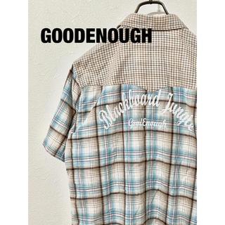 グッドイナフ(GOODENOUGH)のGOODENOUGH 半袖シャツ(シャツ)
