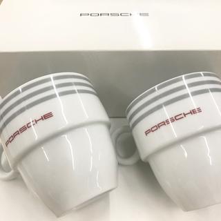 ポルシェ(Porsche)の【新品未使・非売品】ポルシェボクスター ペアマグカップ (ノベルティグッズ)
