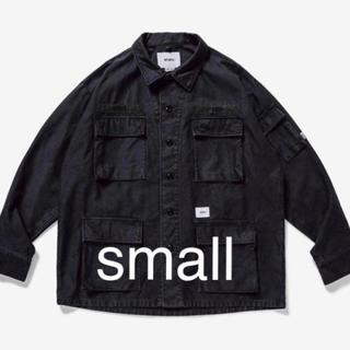 ダブルタップス(W)taps)のwtaps jungle shirt black S(ミリタリージャケット)