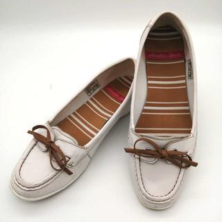 ホーキンス(HAWKINS)のHAWKINS レディース レザーフラットシューズ HW10051 23.0cm(ローファー/革靴)