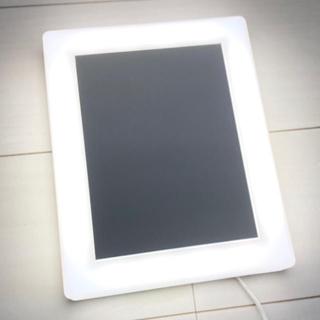 ムジルシリョウヒン(MUJI (無印良品))の無印良品 LEDライト 女優ミラー メイクアップ 化粧鏡 光 ライティング(卓上ミラー)