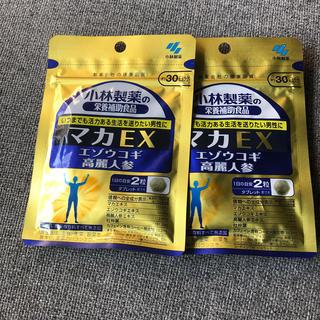 コバヤシセイヤク(小林製薬)の 小林製薬の栄養補助食品 マカEX 約30日分 60粒2袋(その他)