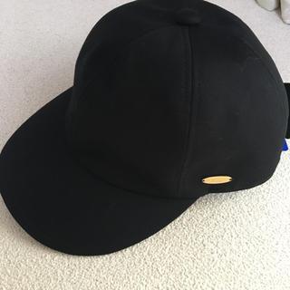 バーバリーブルーレーベル(BURBERRY BLUE LABEL)のブルーレーベルクレストブリッジ ♡ キャップ 帽子 キャスケット(キャップ)