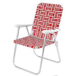 シュプリーム(Supreme)の【新品未使用 送料込み】supreme Lawn Chair イス week12(折り畳みイス)