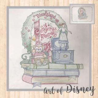 ディズニー(Disney)のダッフィー クリスマス Art Of Disney 世界に一枚 ラフスケッチ(絵画/タペストリー)