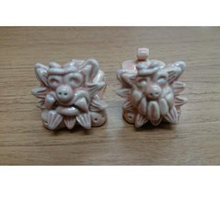 ミニシーサーの箸置き(置物)(カトラリー/箸)
