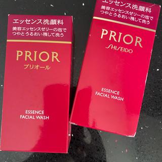 プリオール(PRIOR)の未使用 プリオール エッセンス洗顔 2個セット(洗顔料)