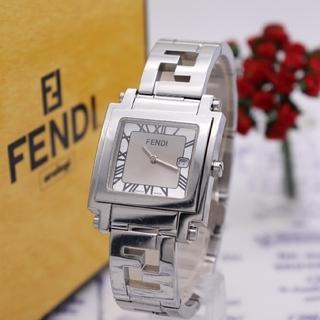 フェンディ(FENDI)の正規品【新品電池】FENDI 6000G/オロロジ ズッカ柄 人気モデル(腕時計(アナログ))
