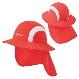 モンベル(mont bell)のモンベル キッズ帽子未使用クリーニング済(帽子)