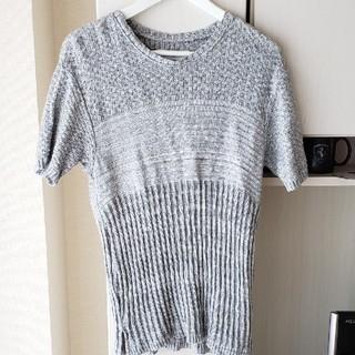 アタッチメント(ATTACHIMENT)のBernabeu  ニットカットソー sizeM(Tシャツ/カットソー(半袖/袖なし))