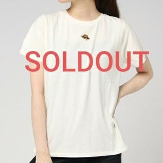 サマンサモスモス(SM2)の完売 knit様専用 SM2 カンカン帽刺繍Tシャツ ホワイト ネイビー 2点(Tシャツ/カットソー(半袖/袖なし))