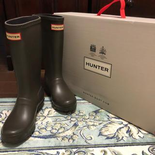 ハンター(HUNTER)の超美品 HUNTER ハンター キッズ 長靴 レインシューズ(長靴/レインシューズ)