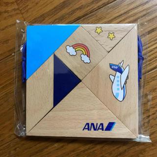 エーエヌエー(ゼンニッポンクウユ)(ANA(全日本空輸))のANA 全日空 木製 脳育タングラム 新品未開封です。 (知育玩具)