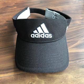アディダス(adidas)のadidas アディダス サンバイザー CCR60 サイズ:57-59cm(サンバイザー)