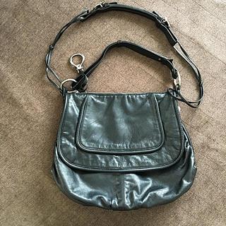 フランチェスコビアジア(FRANCESCO BIASIA)のFRANCESCO BIASIA革製2way黒色バッグ(ショルダーバッグ)