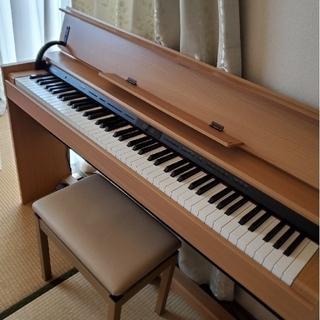 ローランド(Roland)のRoland デジタルピアノ DP603  専用いす付き 2017年製(電子ピアノ)