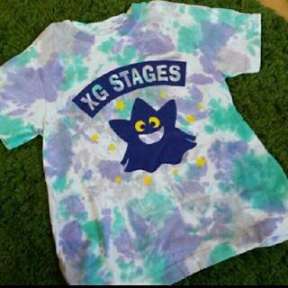エックスガールステージス(X-girl Stages)のx-girlstage☆タイダイTシャツ☆120CM6T(Tシャツ/カットソー)