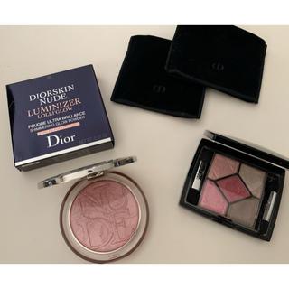 ディオール(Dior)のディオールスキンミネラルヌードルミナイザーとサンクルールセット♡(その他)